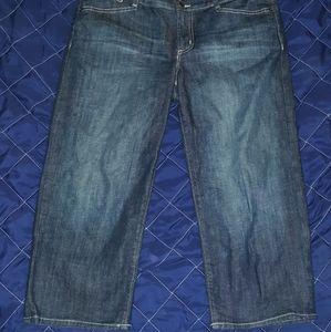 Gap cropped Jeans 10/30